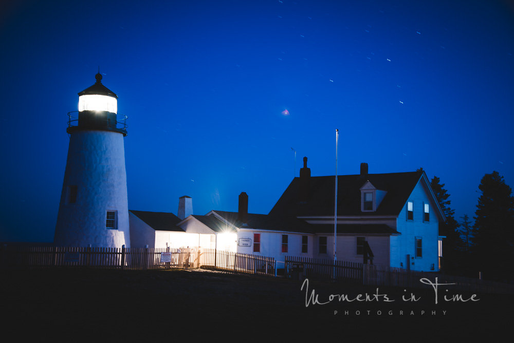 Pemaquid Point Night Maine